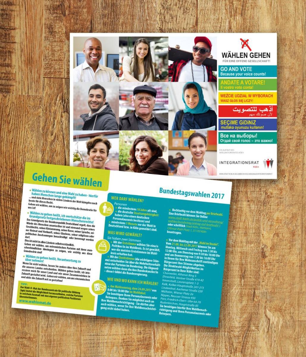 Grafiker Layouter köln Flyer Broschüre Plakat Display Visitenkarten Eitketten